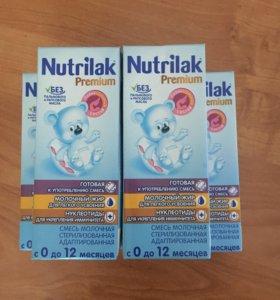 Молочная готовая смесь Nutrilak Premium