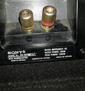 Сабвуфер Sony xplod 1400w
