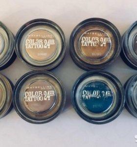 Кремовые тени Color Tatoo