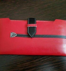 Floveme Универсальный Чехол-бумажник Красный