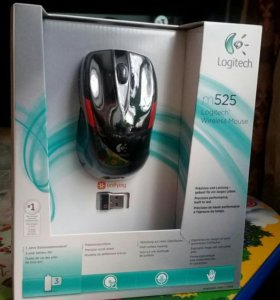 Беспроводная мышка Logitech m 525