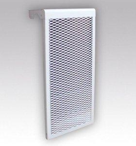 Металлический экран для чугунных радиаторов