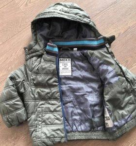 Куртка демисезонная на мальчика. От 2-3 лет.
