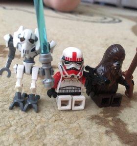 Лего фигурки звёздные войны