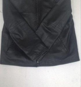 Куртка муж.кожаная.Montego.р.50