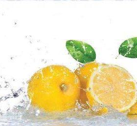 Кухонный фартук ПВХ фотопечать Лимонная свежесть