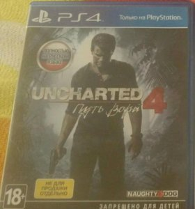 Игры для ps4, uncharted 4