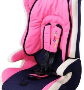 Автокресло Liko Baby LB 513R 9-36кг розовое