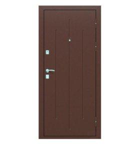 Дверь входная Стройгост 7-2 металл/металл