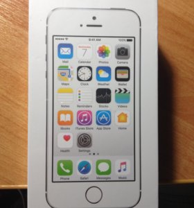 IPhone 5s silver 16gb NEW