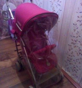 Детская прогулочная коляска трость
