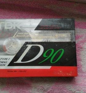 Аудиокассета TDK D-90 ES