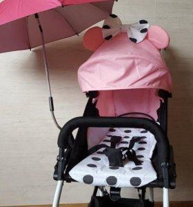 Зонтик от солнца на коляску универсальный, новые