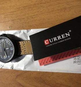Новые часы Curren