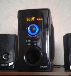 Колонки, аудиосистема, DEXP.