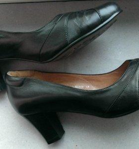 Новые туфли Ascalini кожа, 37 размер