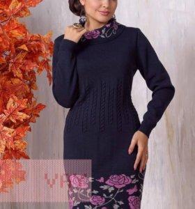 Новое шерстяное суперское платье VAY р.50