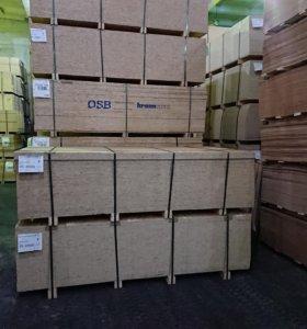 OСБ-3 плита 2500х1250х8мм