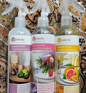 водный спрей освежитель воздуха Faberlic