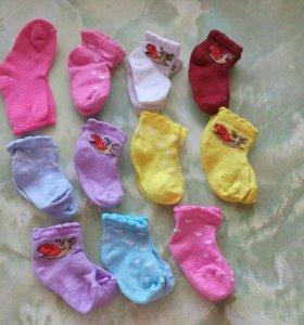 Носочки на лялечку