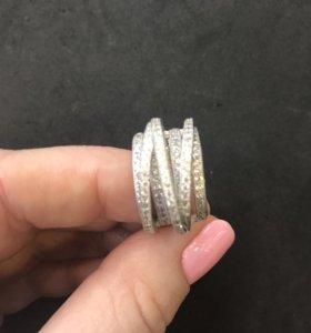Серебряные серьги Grisogono
