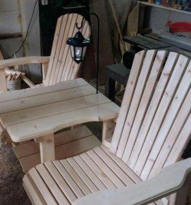 изготовление садовой мебели из ваших материалов