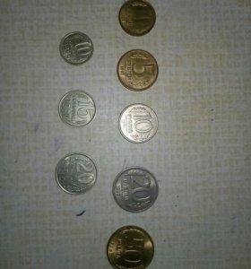 Монеты СССР 464 шт