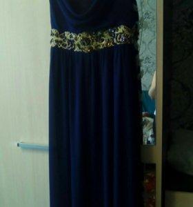 Платье вечернее , длинное в пол.