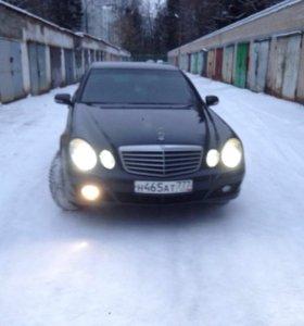 Mercedes-benz e211 рестайлинг