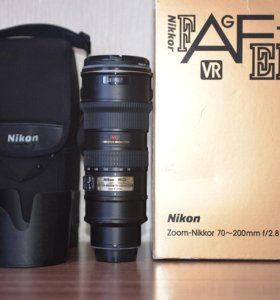 Nikon 70-200mm f/2.8G IF-ED AF-S VR Zoom-Nikkor