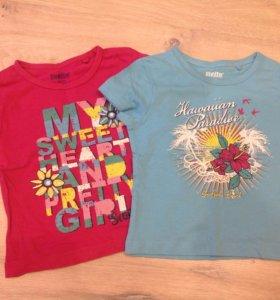 Комплект новых футболок lupilu
