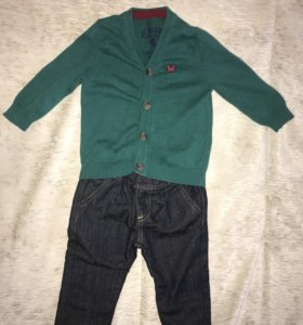 Комбплект джинсы и кофта
