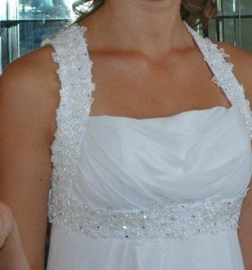 Платье белое для выпускного