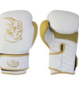 Перчатки боксерские из натуральной кожи