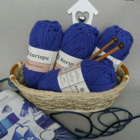 Пряжа для вязанияELITE WOOL GRANDE от KARTOPU