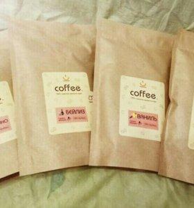 Кофе зерно и молотый 250 гр