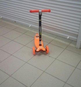 Самокаты скутер окей оранж черные