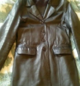 Куртка кожа(тренч),48р-р