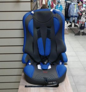 Автокресло новое, 9-36 кг, синее