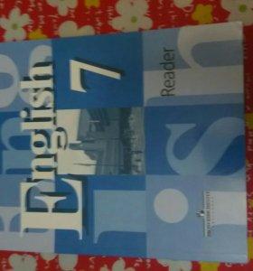 Тетрадь по английскому Reader 7 класс Кузовлев