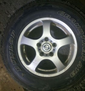 Летняя резина Dunlop GrandtrekAT3 215/75R15