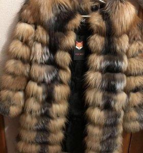 Шуба 42- 44 финская лиса
