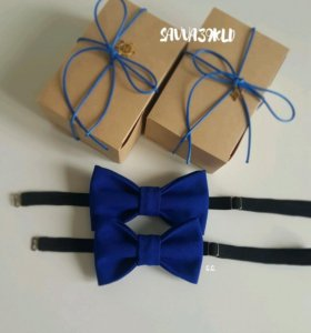 Комплект бабочек-галстуков в подарок