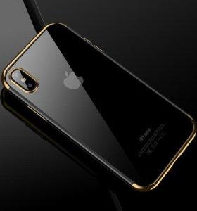 Новый CAFELE силиконовый чехол для iPhone X 10
