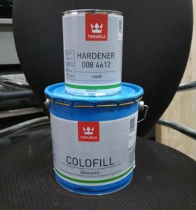 Шпатлёвка Tikkurila colofill epoxy putty