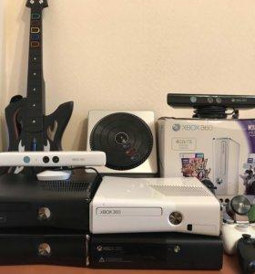 Xbox 360+Kinect+300 лучших игр