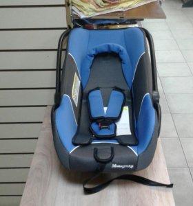 Автокресло LB 321 (Мишутка) (0-13кг) синее