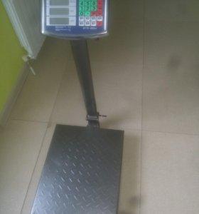 Весы торговые напольные электронные 300кг новые