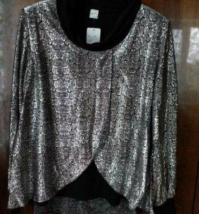 Новая  блузка на 56- 58 раз с этикеткой