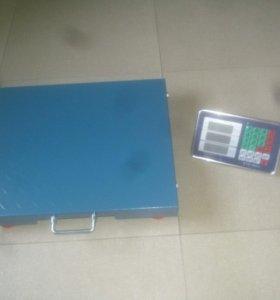 Весы беспроводные электронные напольные 300, 500кг